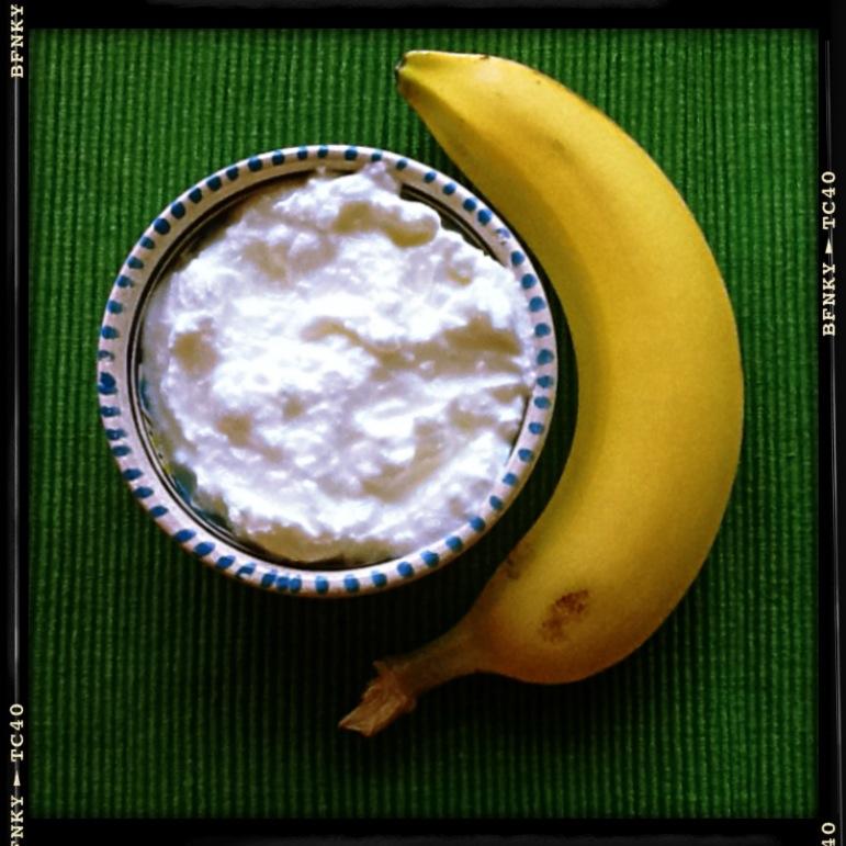 banana and yougurt ideal couple