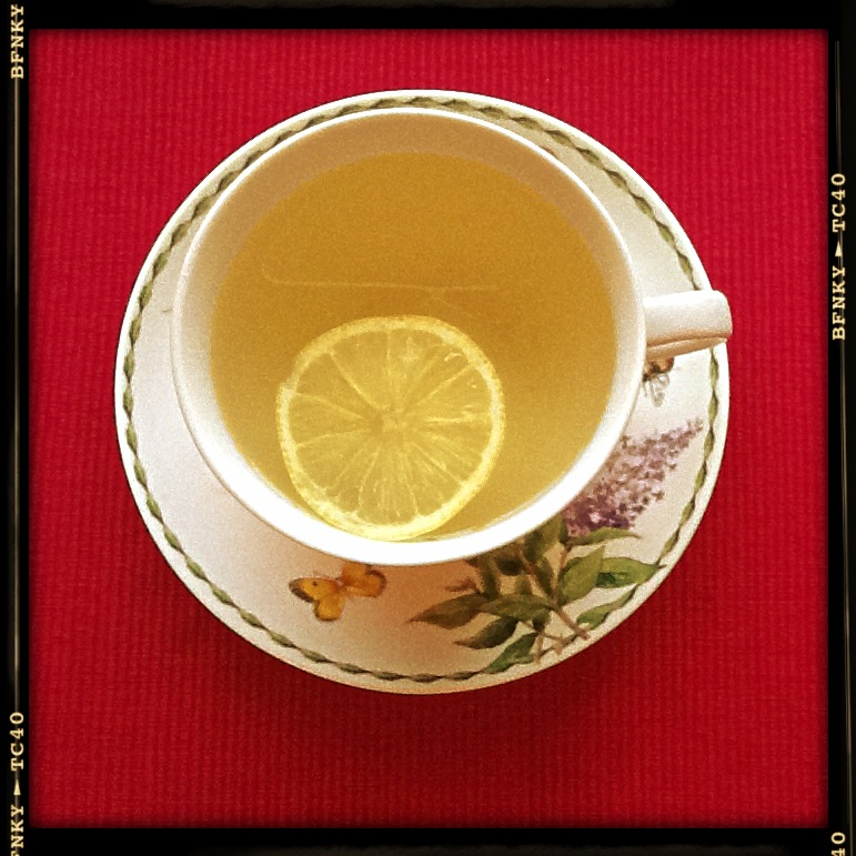 green tea and lemon ideal couple