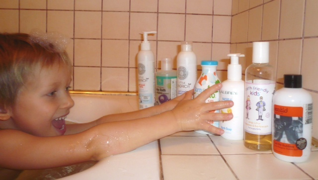 kids shampoo and gels f1