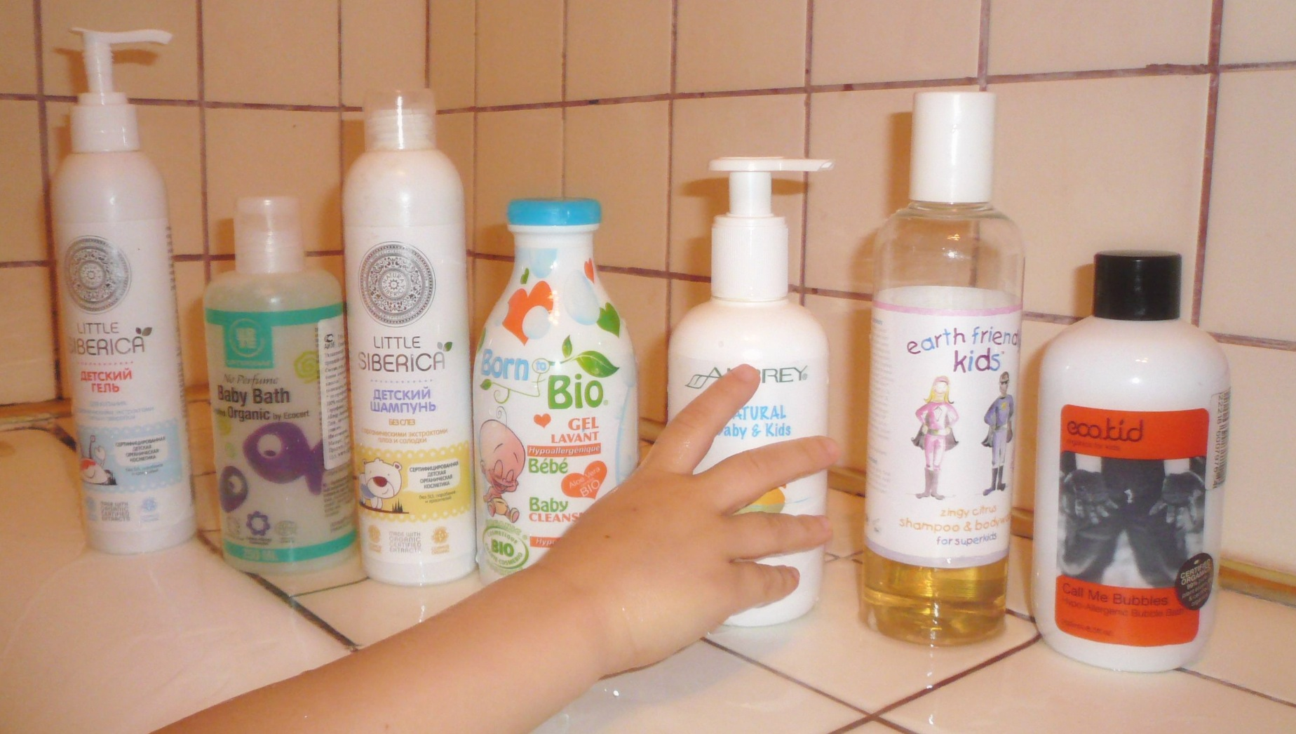 kids shampoo and gels f2