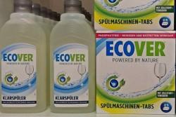 Жидкость для мытья стекла и таблетки для  ПММ Эковер