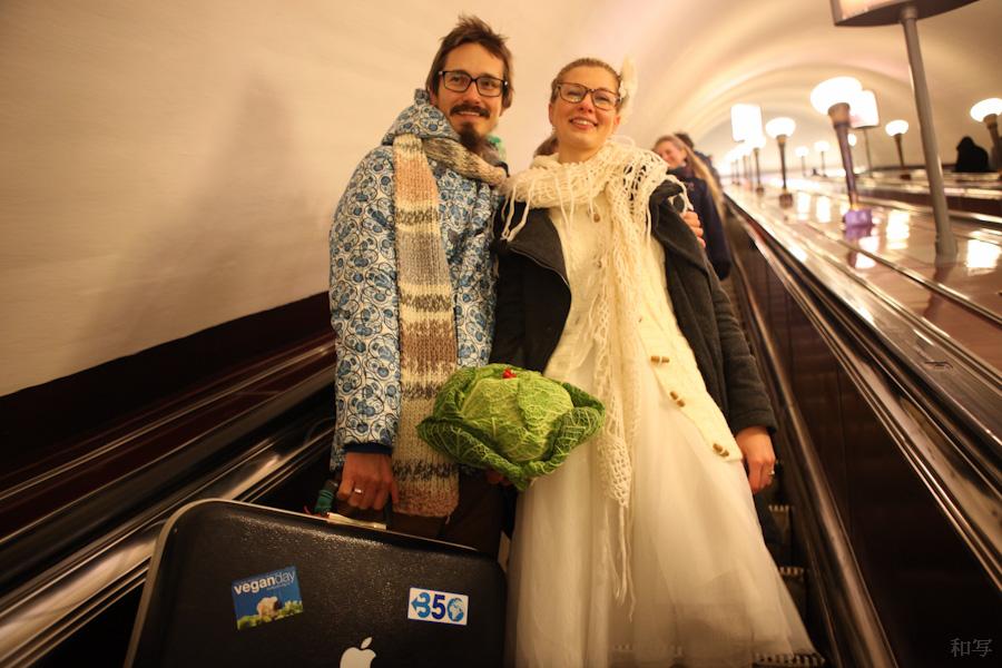 Roman Sablin 3 wedding metro