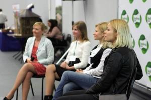 Слева направо: Оксана Ицкова, Екатерина Матанцева, Татьяна Лебедева, Катерина Карпова