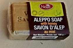 honey najel aleppo soap