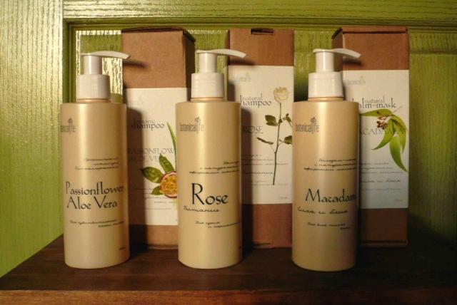 botanicalife shampoo range