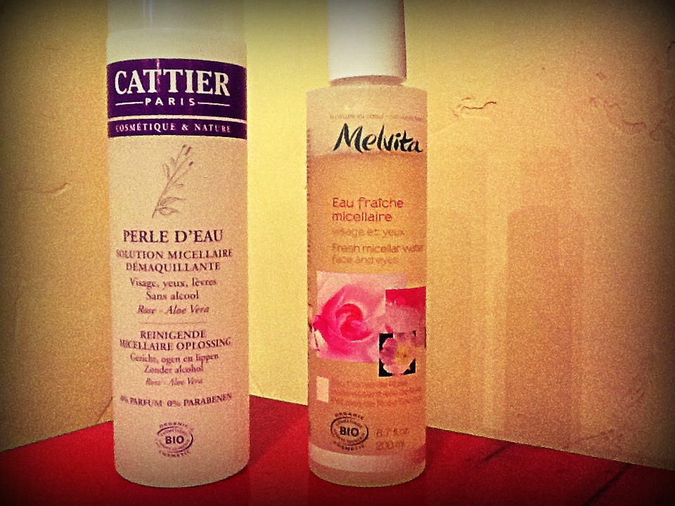 cattier melvita micellar water