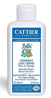 cattier крем-линимент для пеленания