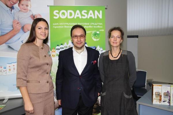 Слева направо: Мария Науменко, Дмитрий Ерзин, Кирстен Хюттнер