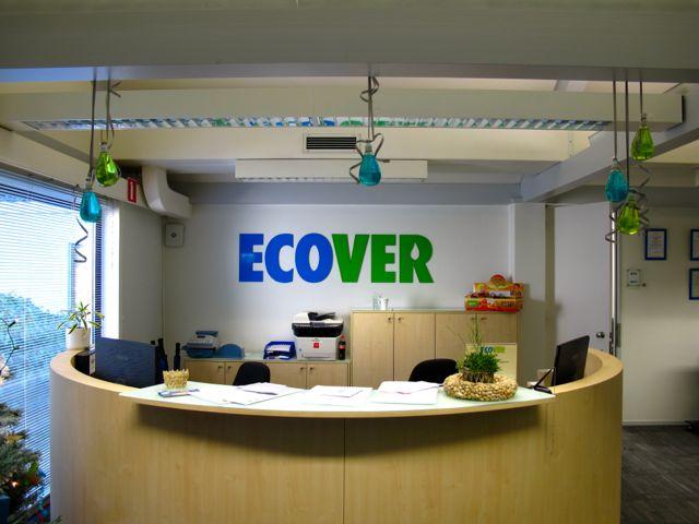 Офис Ecover расположен в 2 минутах езды от завода
