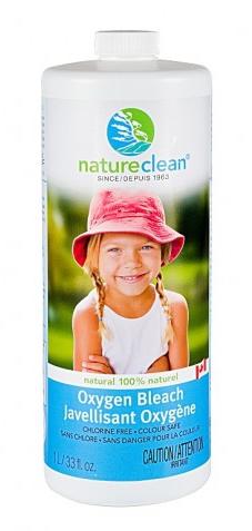 Nature Clean oxygen bleach