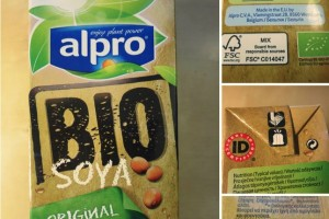 alpro bio soya milk