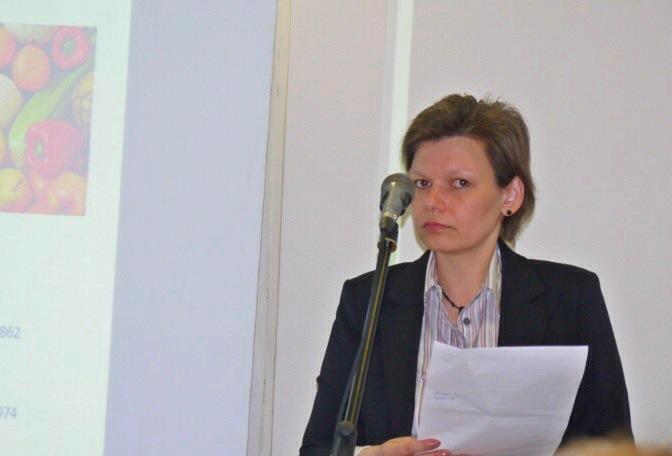 Елена Смирнова, экобюро Greens, модератор конференции