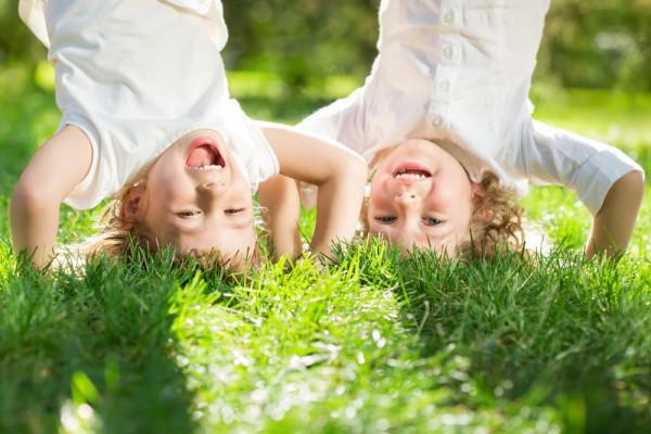 happy children summer