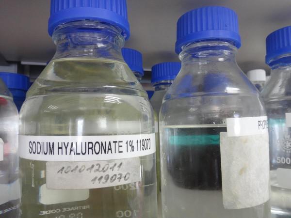 Гиалуроновая кислота в косметической лаборатории