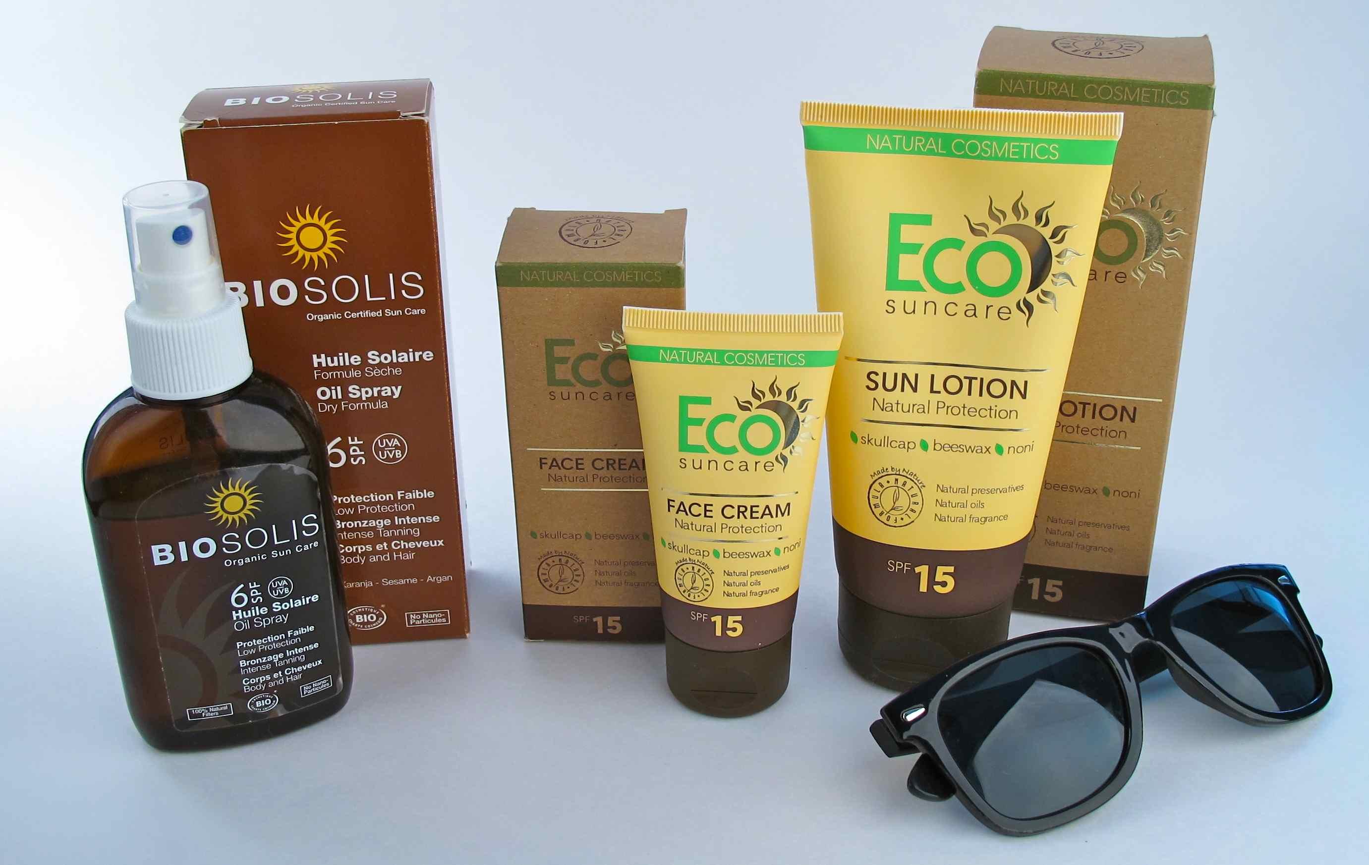 Eco suncare biosolis products