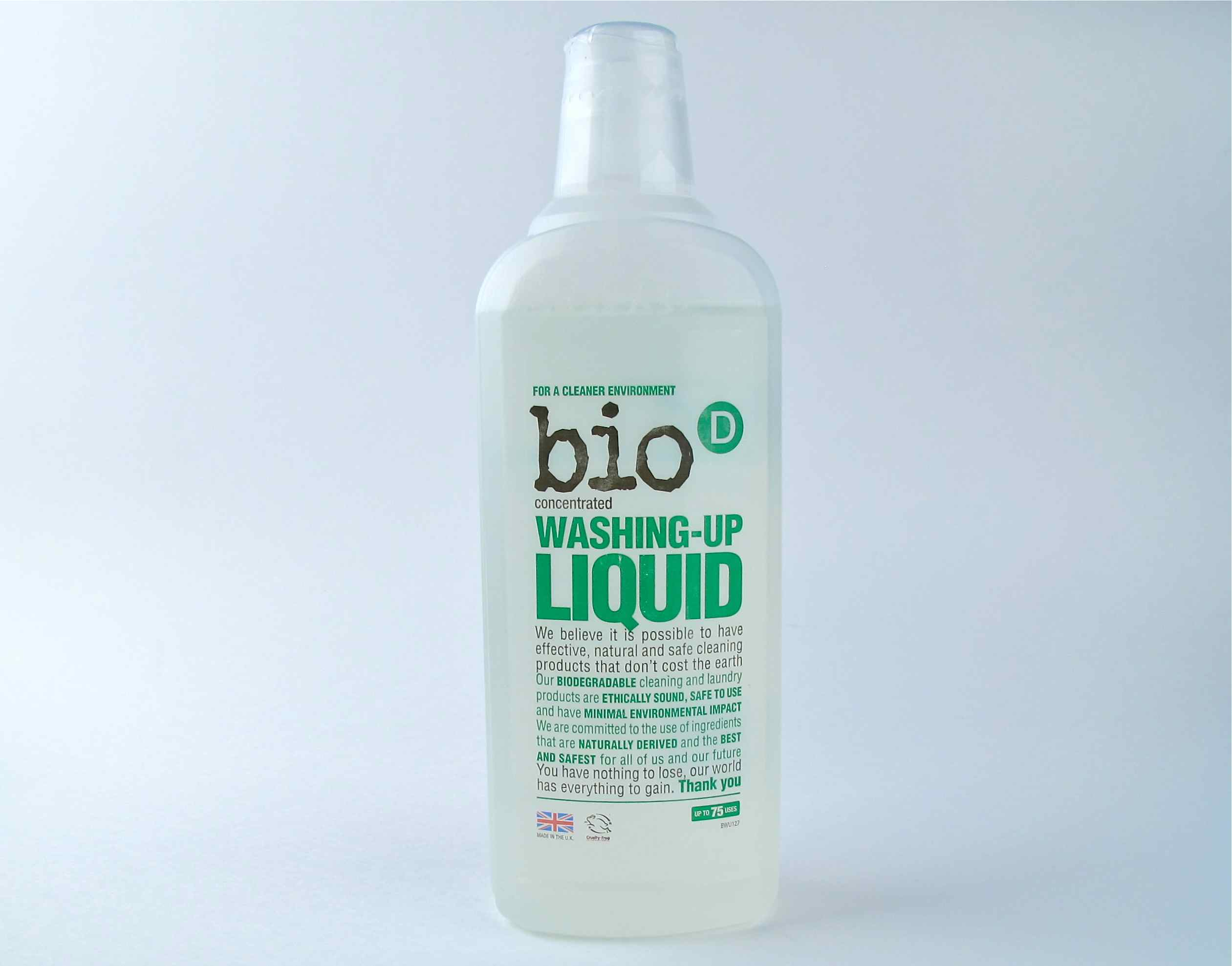 Bio D dish washer liquid