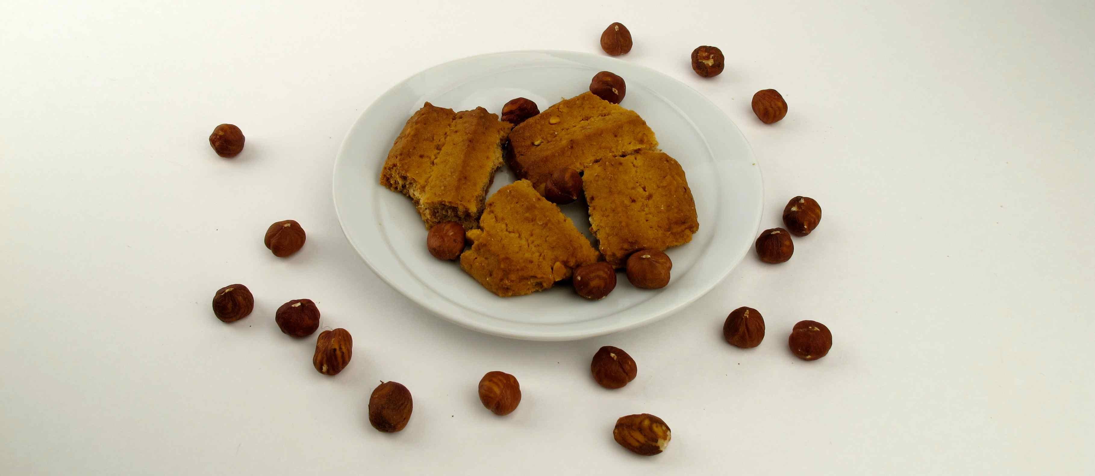 Nut cookie vegan inside