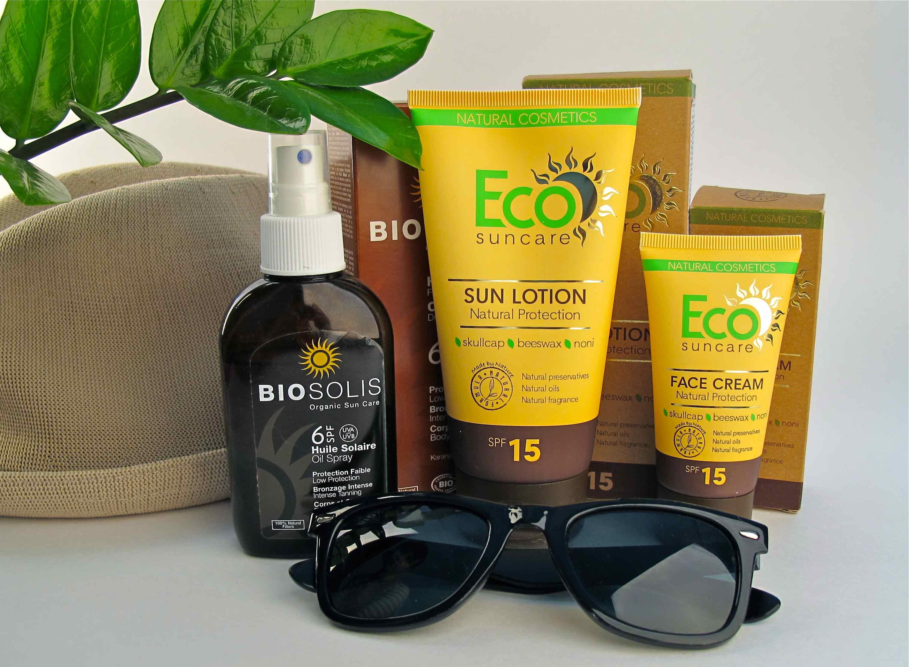 Sun protection products eco suncare biosolis