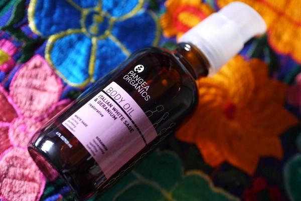 pangea organics massage oil