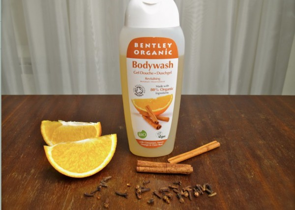 bentley organics dush gel orange and cinnamon