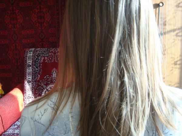 Волосы на второй день после мытья