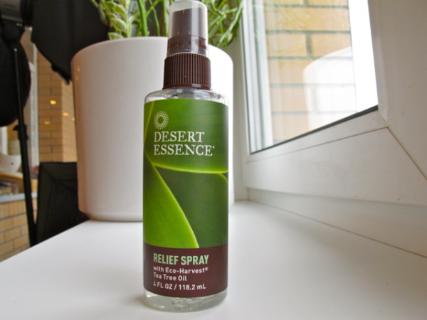 Desert Essence relief spray