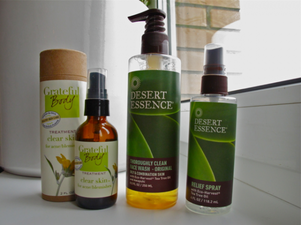 Desert Essence Grateful body