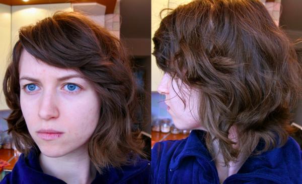 Natasha hair after Attitude double