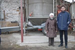 """Екатерина Михайловна и Павел Абрамов, """"Черный хлеб"""""""