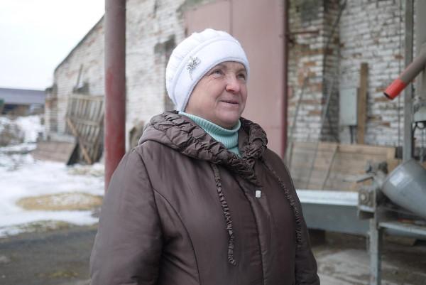 """Екатерина Михайловна, агроном """"Черного хлеба"""""""