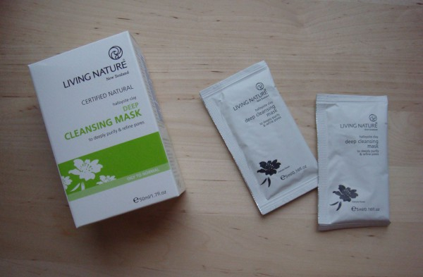 living nature face mask
