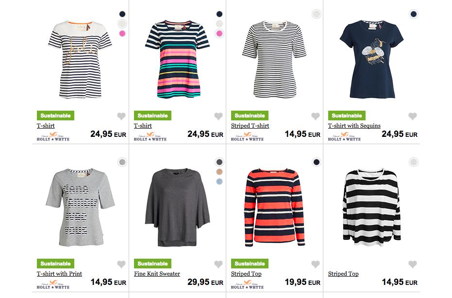 Lindex eco clothes