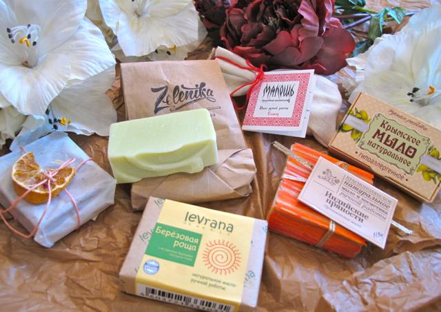 Russian natural soap 1