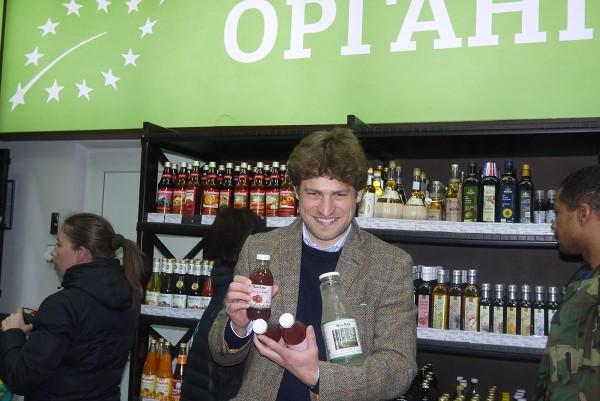 Участник конференции из Венгрии в киевском гипермаркете