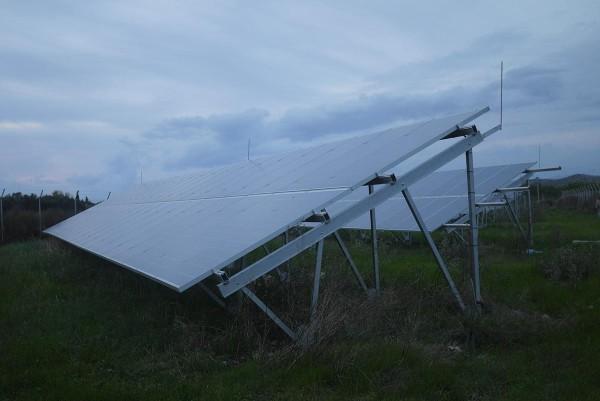 Солнечные батареи в хозяйстве Вангелиса Кусулоса
