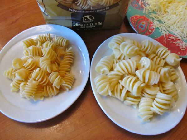 Pasta cooked organic 2