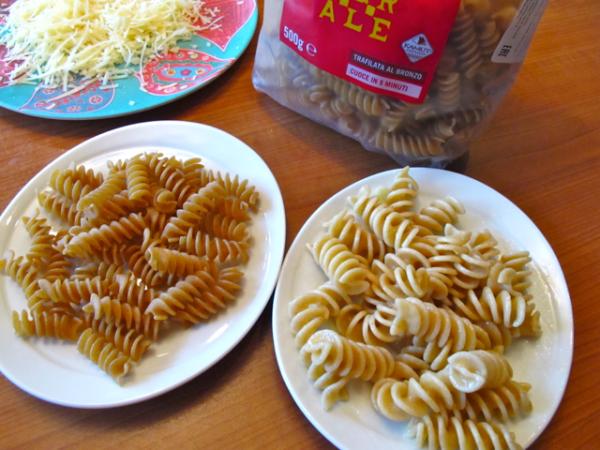 Pasta cooked organic 3