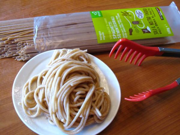 Pasta cooked organic 5