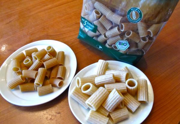 Pasta cooked organic 7