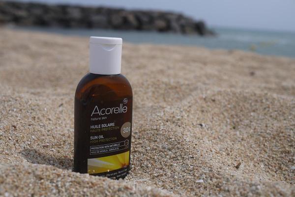 acorelle sun oil