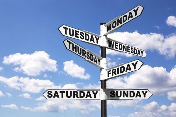 week weekend