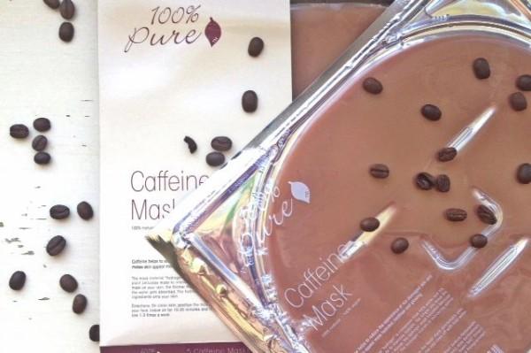 100 pure caffeine mask