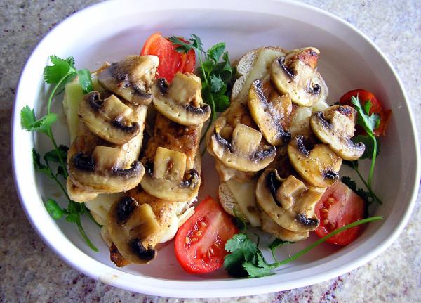 mushrooms, food