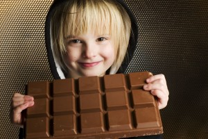 chocolate child