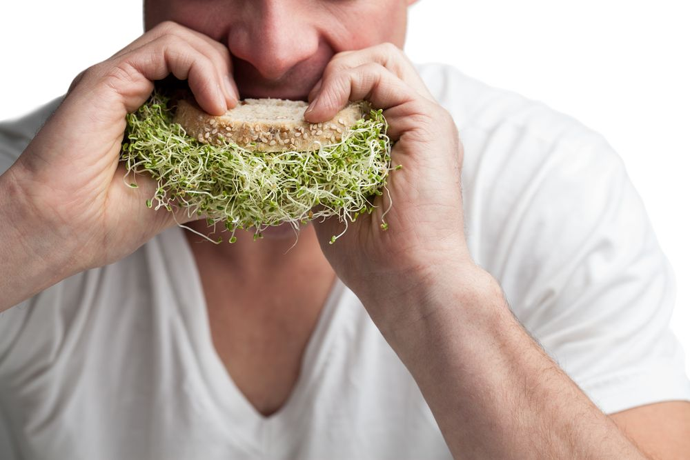 eat sprout veggies