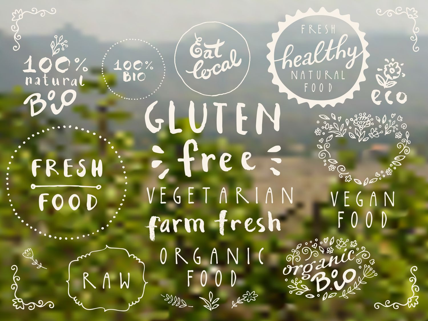 100% bio, eat local, healthy food, farm fresh food, eco, organic bio
