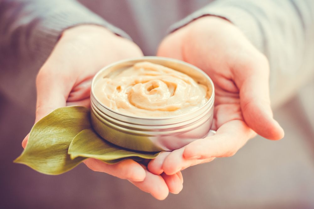 Cosmetic cream eco organic