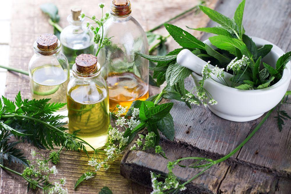 Organic essential aroma oil