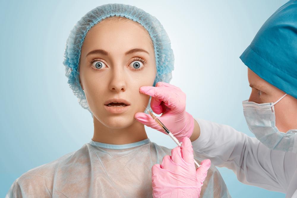 botox injections woman