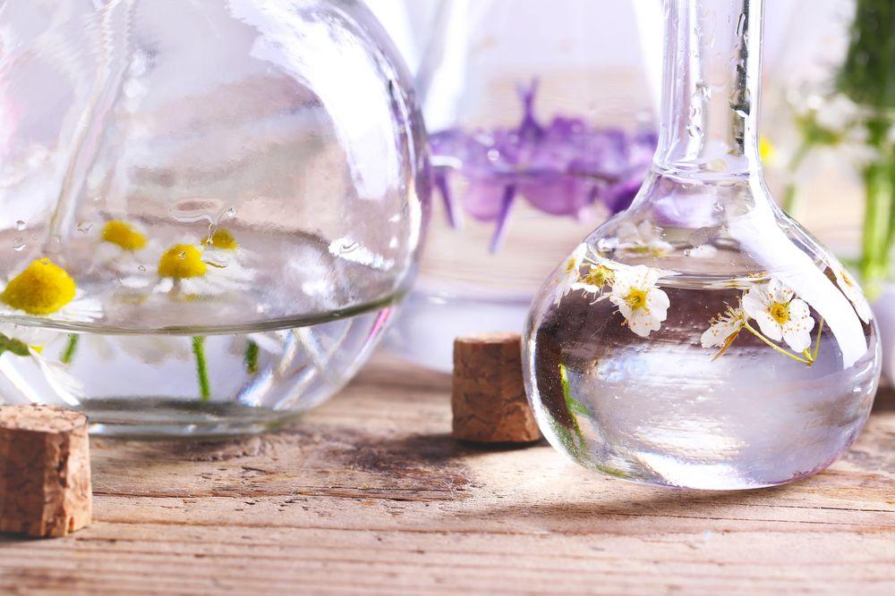 Process of making perfumes oils